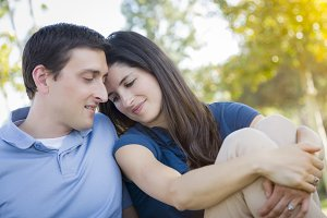 Young Attractive Couple Portrait in