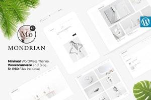 Mondrian - Minimal Blog and Store