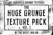 The Huge Grunge Texture Pack Vol. 1