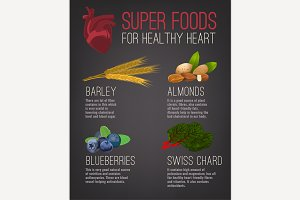 Super foods for healthy heart