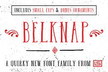 Belknap Font Family