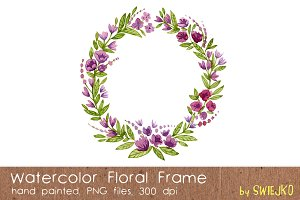 Watercolor Frame