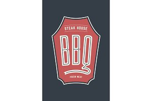 Logo BBQ Steak House