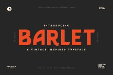 Barlet | Vintage Inspired by  in Sans Serif Fonts