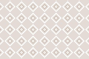 Beige and white rhombus pattern