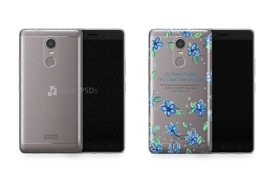Lenovo K6 Note UV TPU Clear Case