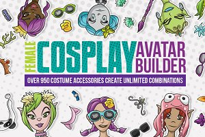 Female Cosplay Avatar Builder