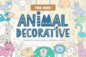 Animal Decorative For Kids