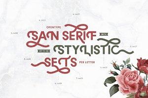 Stylistic Sans Serif - MELANCHOLIA