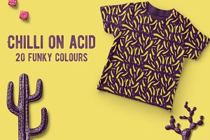 Chilli on acid | 20 funky patterns