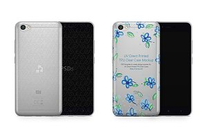 Redmi Note 5A UV TPU Clear Case