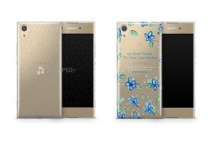 Sony Xperia XA1 UV TPU Clear Case