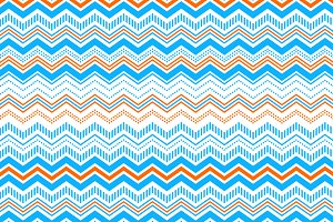 Colorful chevron seamless pattern