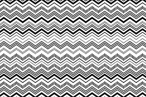 Black white chevron seamless pattern