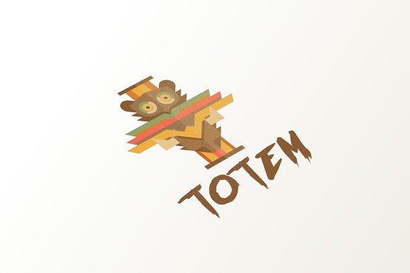 Totem Logo in Logo Templates