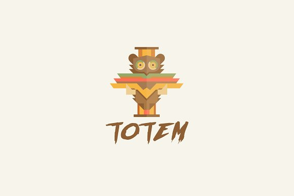 Totem Logo in Logo Templates - product preview 1