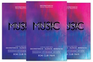 Minimal Music Flyer