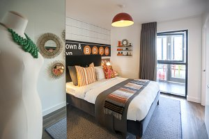 cozy home bedroom