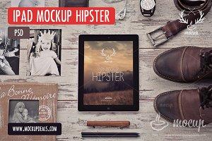 iPad PSD Mockup Hipster