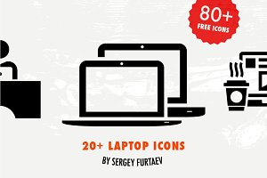 20+ laptop icons