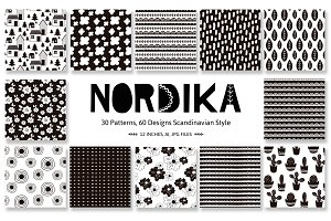 Nordika Patterns, scandinavian style