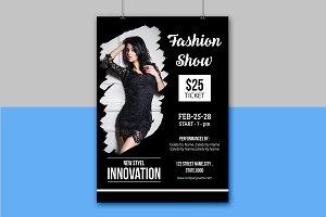 Fashion Show Flyer -V814