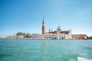 San Giorgio island in Venice, Italy.