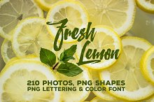 Fresh Lemon - Photos & Graphics