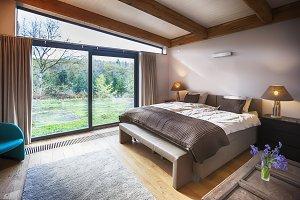 countryside villa's bedroom
