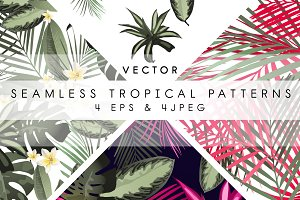 Tropical patterns & set (VECTOR)
