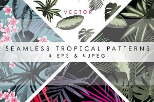 Tropical patterns & set (VECTOR) 2