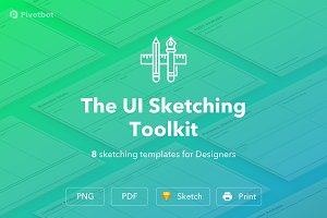 The UI Sketching Toolkit