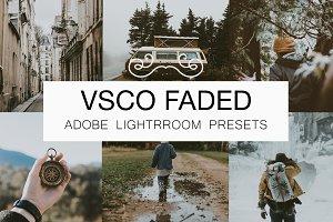 VSCO Faded Lightroom Presets Bundle