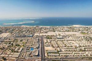 Dubai coastline landscape Arab Emira