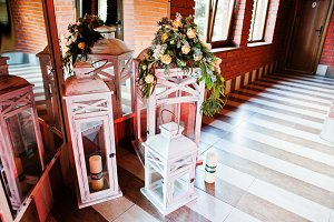 Elegance wedding reception decor. Vi