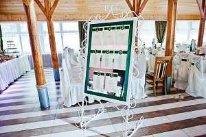 Wedding guest list planner of numer