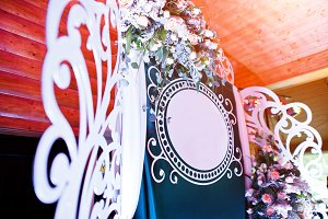 Decorative photo banner with free sp