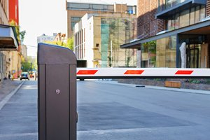 Automatic barrier and security syste