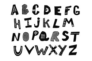 Vector letters