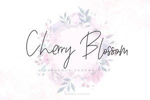 Cherry Blossom Script