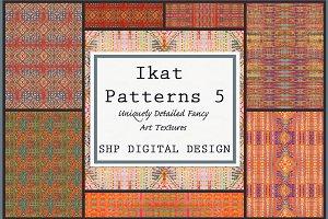 Ikat Ethnic Pattern Set 5