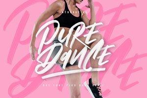 Pure Dance - SVG Font
