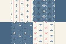 Seamless Sea Patterns
