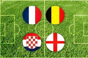 Illustration for Football match of