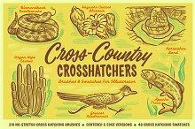 Cross-Country Crosshatchers