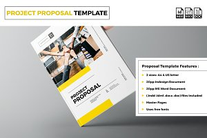 Proposal Template A4 / US Letter