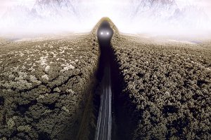 road into the darkness