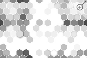 Hexagonal seamless patterns
