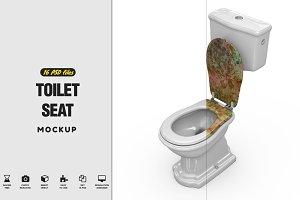 Toilet Seat Mockup