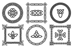 Celtic knots and frames